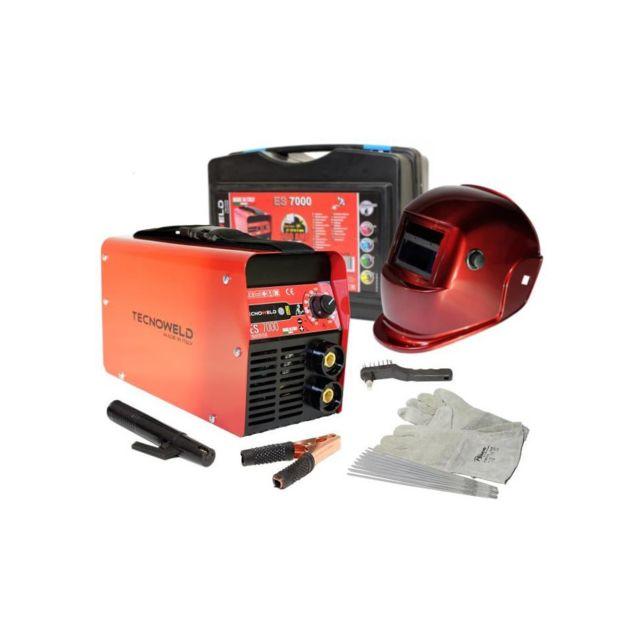 8638f3e02c5b9 Technoweld - Tecnoweld Poste a souder Inverter 200 A avec mallette et  accessoires