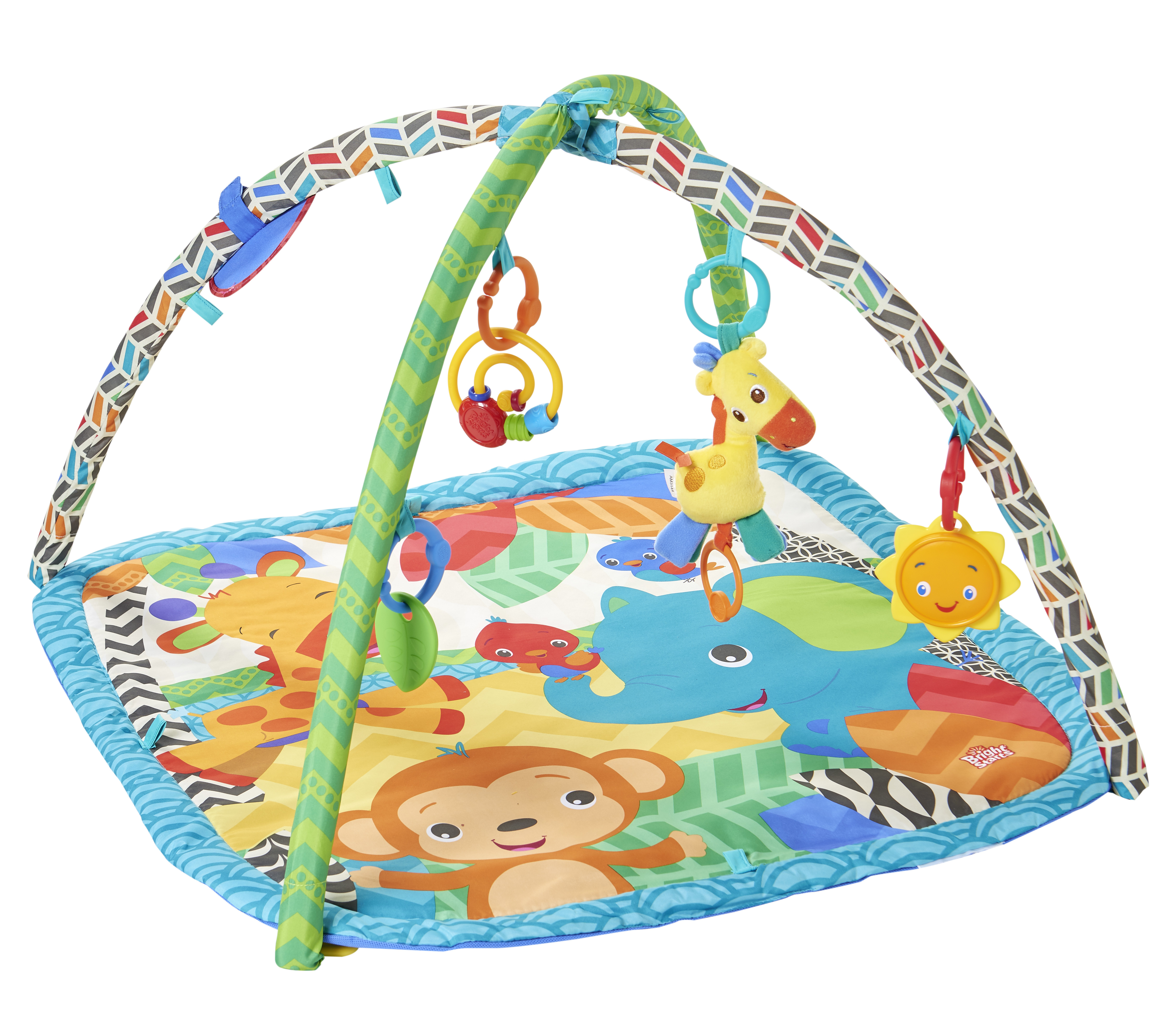 Bright starts tapis d veil zoo ty62507 pas cher - Tapis d eveil fisher price zoo deluxe ...