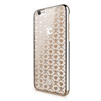 Itskins - Coque Krom Skull iPhone 6s motifs coeurs et skull gold