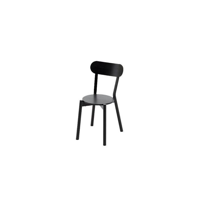Karimoku New Standard Chaise Castor - chêne noir