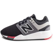best website 85364 cb16a New Balance - Ps247fb Noir Et Rouge Enfant