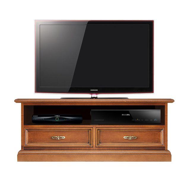 Arteferretto - Meuble Tv barre de son 2 tiroirs classique - pas cher ...