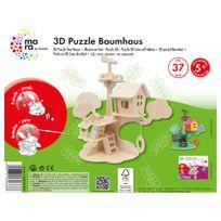 Marabu - Mara Puzzle 3D Maison en Bois pour Enfant de + 5 Ans