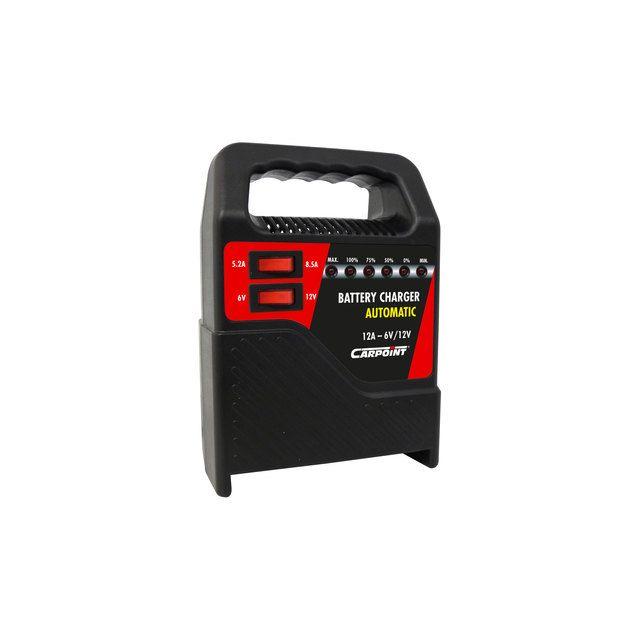 carpoint chargeur de batterie voiture 12a pas cher. Black Bedroom Furniture Sets. Home Design Ideas