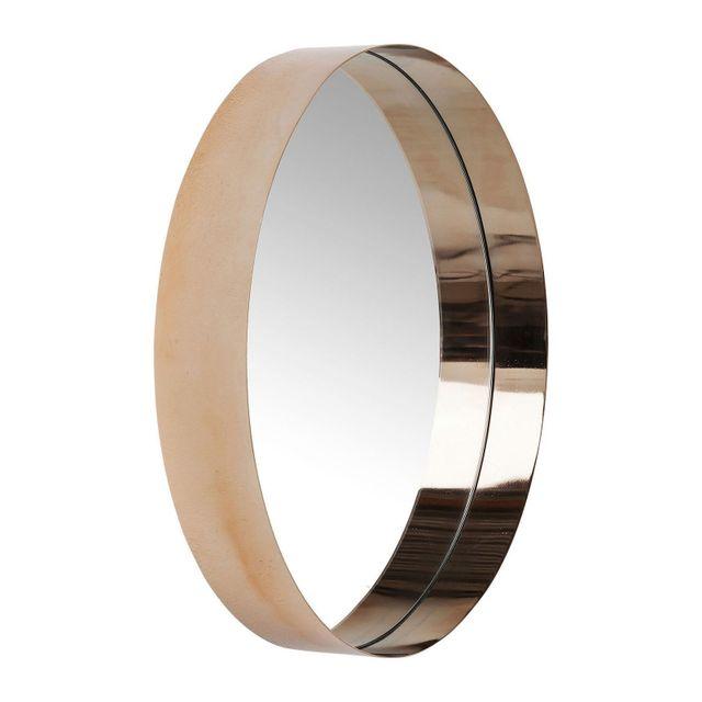 Karedesign Miroir Luna cuivre 50cm Kare Design