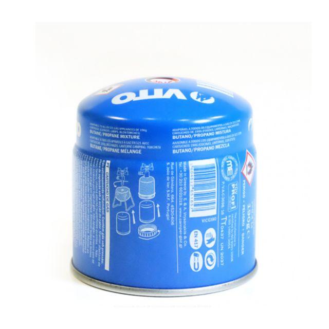 Vito pro power cartouche gaz 190g vito butane propane mix per able avec syst me s curit stop - Cartouche gaz cp 250 ...