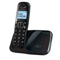 ALCATEL - Téléphone Fixe Sans fil sans répondeur XL280 Solo Noir