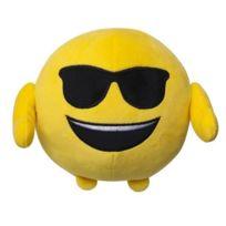 "Imoji - Emoji Coussin Emotion ""Cool"" - Diametre 18cm"