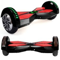 Hoverboard 8 Pouces Noir Bluetooth+ sac de transport+ télécommande