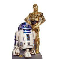Star Cutouts - Figurine Géante ''R2 Et C3Po'' Star Wars
