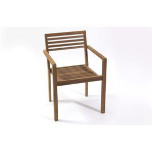 DCB GARDEN - Fauteuil de Jardin en bois de teck marron - pas cher ...