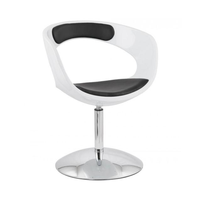 Kokoon Design Fauteuil design Kirk White 57x64x81 cm