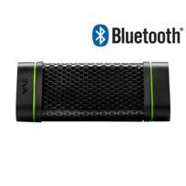 HERCULES - Enceinte Nomade d'extérieur - Bluetooth - 2 x 2W - Résiste à l'eau et à la poussière - Noir - BTP04