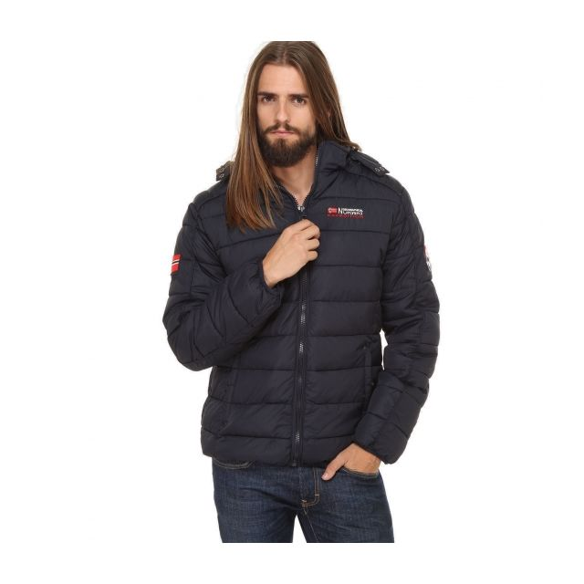 grossiste e05cc 5aced Geographical Norway - Parka Doudoune homme Belissimo marine ...