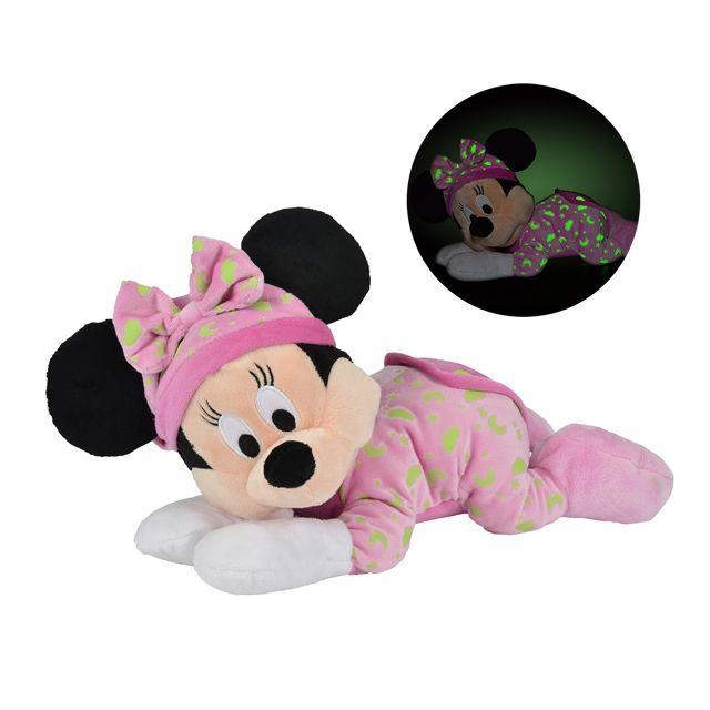 Simba Dickie - Peluche Minnie s'illumine dans le noir - 30 cm