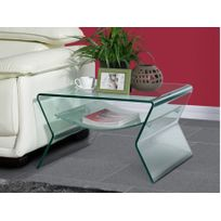 77be08f12c123d table basse verre double plateau - Achat table basse verre double ...