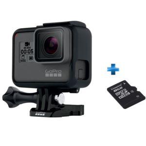 GOPRO - Pack Go pro Hero 5 Black Edition + Carte SD 8Go