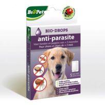 Bsi - Bio-Drops anti-parasite BioPet sans Insecticide Chien