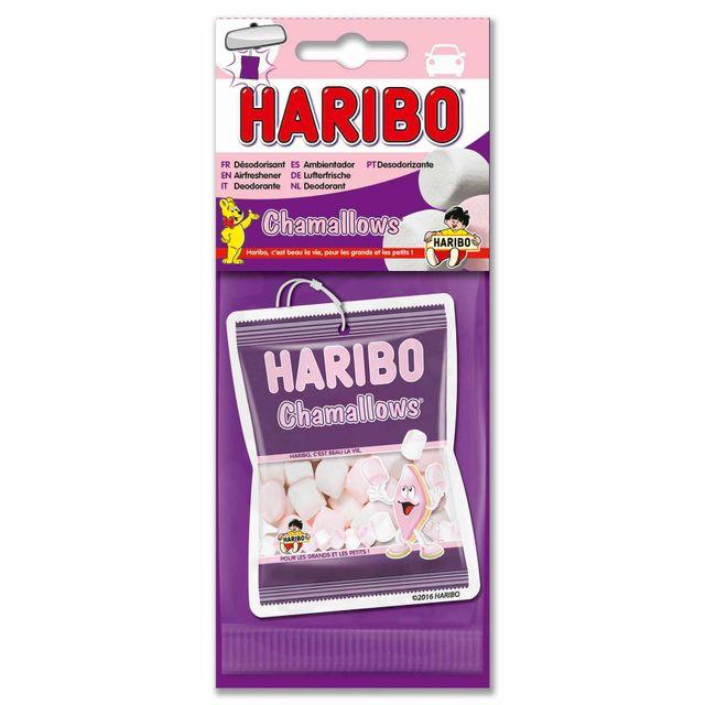 HARIBO - carte parfumée. Senteur CHAMALLOWS