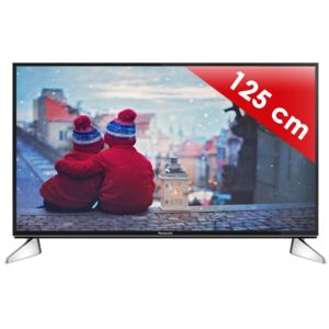 panasonic viera tx 49ex600e 123 cm smart tv led 4k uhd 1300 hz pas cher achat vente. Black Bedroom Furniture Sets. Home Design Ideas