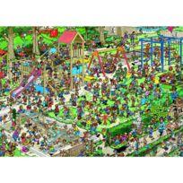 Jumbo - Puzzle 1000 pièces - Jan Van Haasteren : Le jardin public