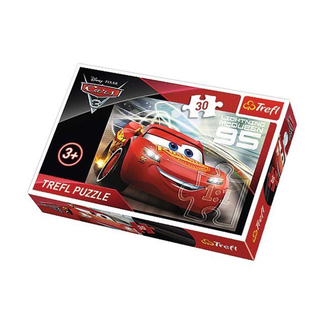 Imagin Puzzle Cars Mc Queen - + 3 ans - 30 pièces