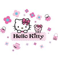 Decofun - Grands Stickers Hello Kitty