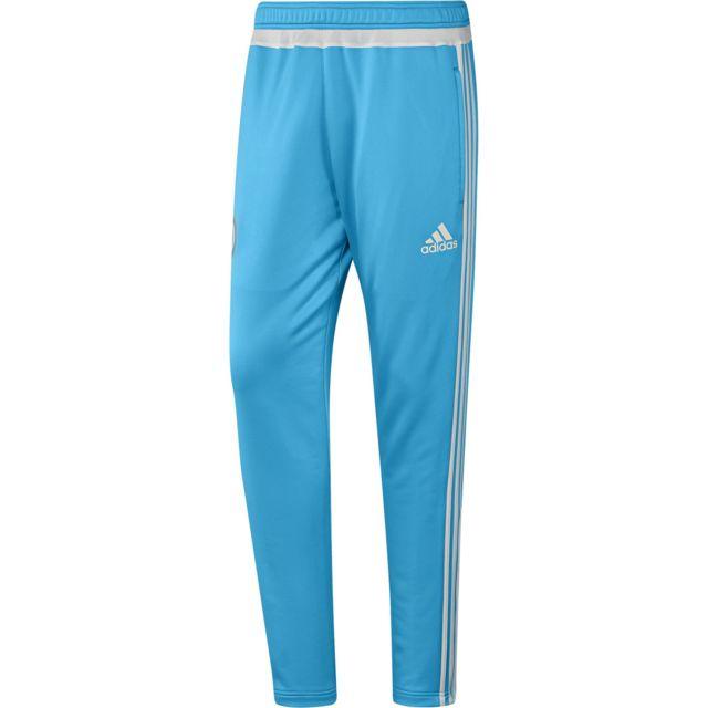 Adidas performance - Adidas Performance Om Enfant Bleu Pantalon Club Enfant  Football c60f80b447ed1