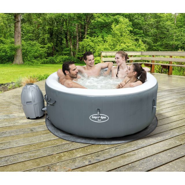Bestway Spa Gonflable Lay Z Spa Bali Pour 2 4 Personnes 54183 Pas Cher Achat Vente Spa Gonflable Rueducommerce