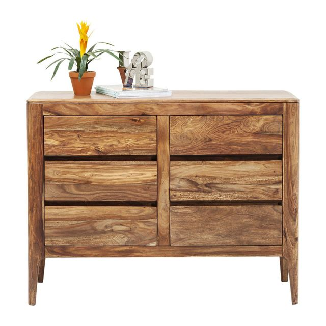 Karedesign Commode Brooklyn nature 6 tiroirs Kare Design