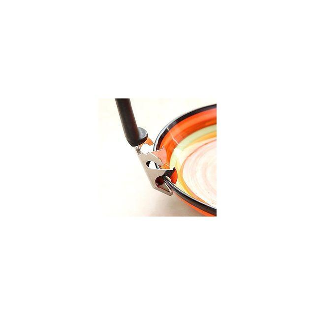 Alpexe Porte assiette chaude ou plats - Permet aussi de decapsuler