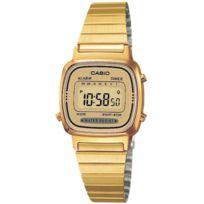 Casio - Montre femme Reloj Chapado Dig. La670WEGA-9EF