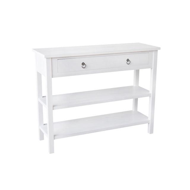 console pour couloir good jja console blanche collection conall cm x cm x cm with console pour. Black Bedroom Furniture Sets. Home Design Ideas
