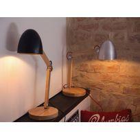 Beliani - Lampe - Lampe à poser - Lampe de bureau - argenté - Veleka