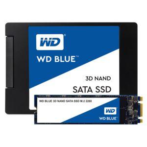 WESTERN DIGITAL - SSD interne M.2 2280 WD BLUE 500 Go SATA III NAND 3D
