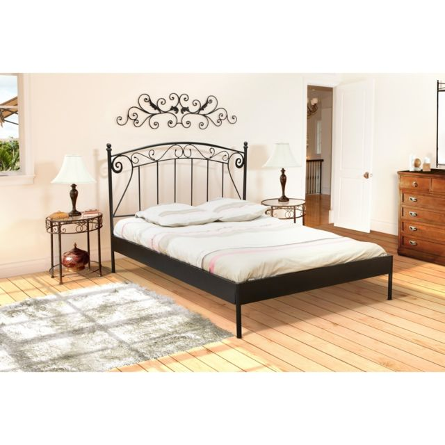 sommier en kit 160x200 cm newsomkit coloris cendre vendu par conforama 3684. Black Bedroom Furniture Sets. Home Design Ideas