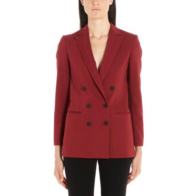 Tonello Femme 02G60806932U300 Rouge Coton Blazer