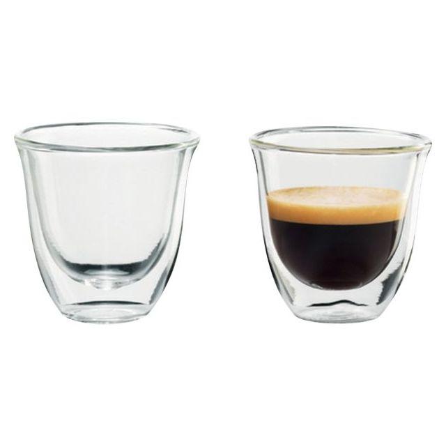 89e2b9fbcec77f Delonghi - Tasses café lot 2 espresso 60ml - pas cher Achat   Vente  Entretien - RueDuCommerce