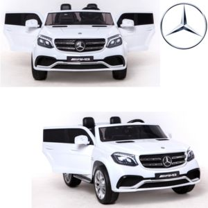 mercedes voiture 4x4 lectrique enfant 24 volts vraie 2 places 24v blanc pas cher achat. Black Bedroom Furniture Sets. Home Design Ideas