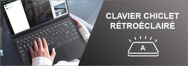 MSI - Clavier rétroéclairé