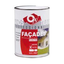 Oxi - Peinture façade proxylith - 2.5 L - blanc