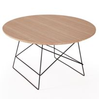 Inside 75 - Innovation Living Grid tables basse design taille Xl coloris chêne