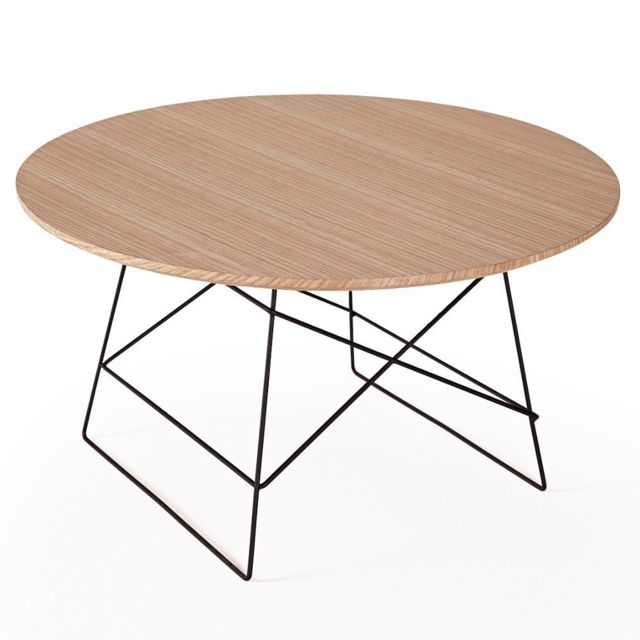 Inside 75 Innovation Living Grid tables basse design taille Xl coloris chêne