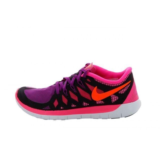 6951d5f9b0c52 Nike - Basket Free 5.0 Junior - Ref. 644446-006 - pas cher Achat ...
