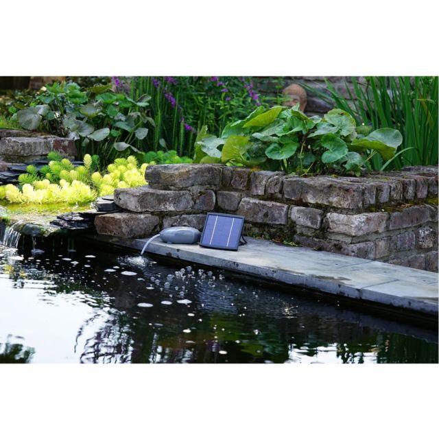 Accessoires pour fontaines et bassins Chic Ubbink Pompe à air Air Solar 100 1351374