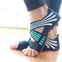 23dc5e2b4d04d Wewoo - 1 paire de chaussettes de yoga anti-dérapant sans Pilates Ballet  Yoga chaussures