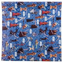 Hoomark - Papier cadeau Star Wars - 200 x 70 cm Bleu
