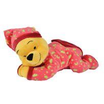 Disney - Winnie L'OURSON - Peluche rouge Winnie s'illumine dans le noir - 30 cm - 5873841