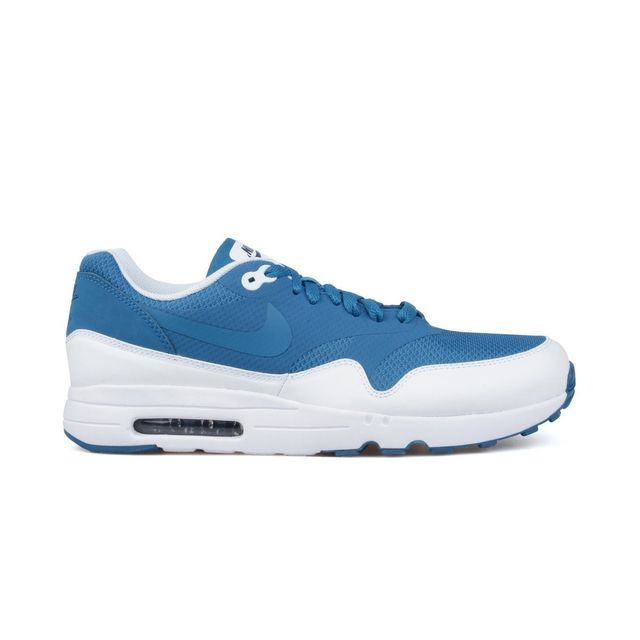 quality design 63f4c 531cf Nike - Basket Air Max 1 Ultra 2.0 Essential - 875679-402 Bleu - pas cher  Achat  Vente Baskets homme - RueDuCommerce