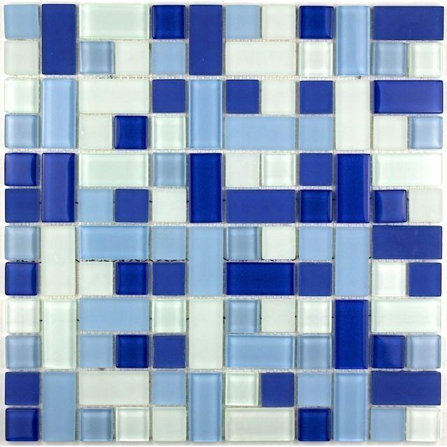 Sygma Group - Carrelage pour sol mosaïque pour mur mv-cub-ble